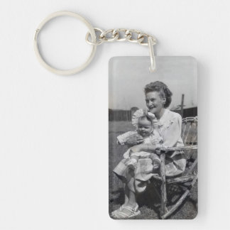 Personalize Mother and Child Best Friend Keychain