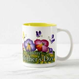 PERSONALIZE MOTHER'S DAY Two-Tone COFFEE MUG