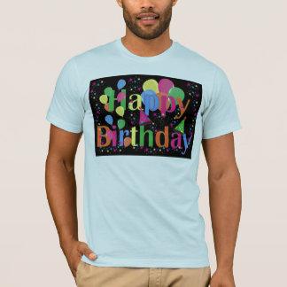 Personalize Name Birthday Party Celebration Art T-Shirt