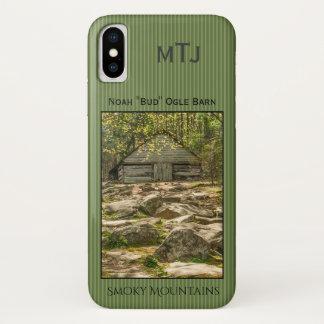 "Personalize Noah ""Bud"" Ogle Barn Photography iPhone X Case"