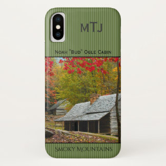 "Personalize Noah ""Bud"" Ogle Cabin Photography iPhone X Case"