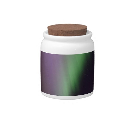 Personalize Northern-Lights Aurora Borealis Sky Candy Jar