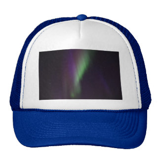 Personalize Northern-Lights Aurora Borealis Sky Trucker Hat
