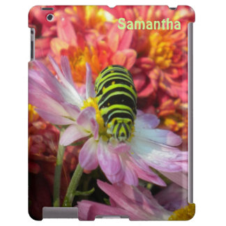 *Personalize* Nosy del caso del iPad de Caterpilla Funda Para iPad