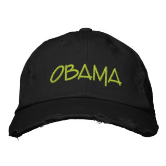 Personalize OBAMA Commemorative gift Embroidered Baseball Hat