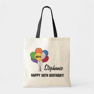 Personalize Our 50th Birthday Balloon Bag