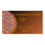 Personalize Patio Brick Business Card