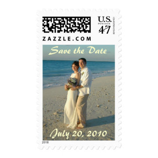PERSONALIZE PHOTO SAVE THE DATE POSTAGE