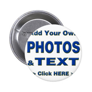 personalize photos text add images customize make 2 inch round button