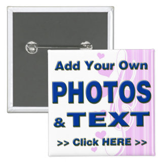 personalize photos text add images customize make 2 inch square button