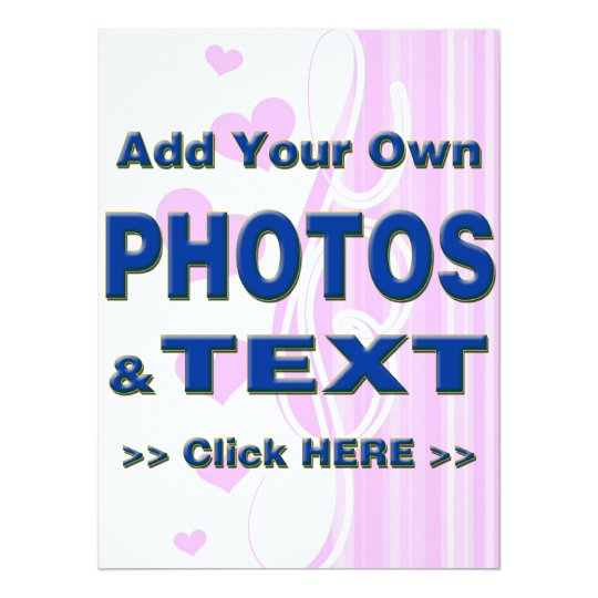 personalize photos text add images customize make card