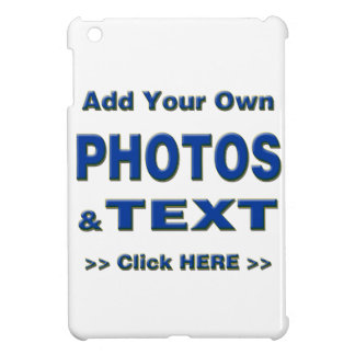 personalize photos text add images customize make iPad mini cases