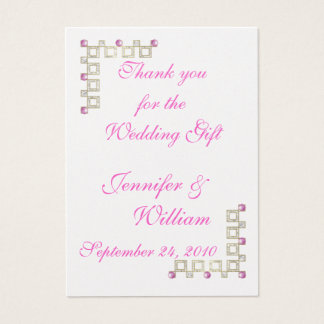 PERSONALIZE PK.100  PHOTO THANK YOU CARDS