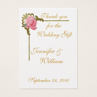 PERSONALIZE PK.100 THANK YOU CARDS