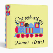 binder, baby, wedding, babyshower, Binder with custom graphic design