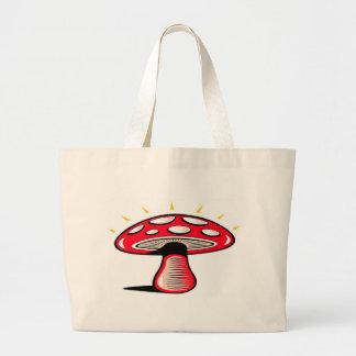 Personalize Pretty Mushroom Tote Bag
