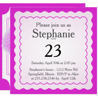 Personalize: Purple Orchid Floral Photography Card