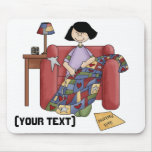 Personalize Quilter Mouse Pad