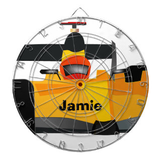 Personalize Race Car Birthday Party Gifts Dartboard With Darts