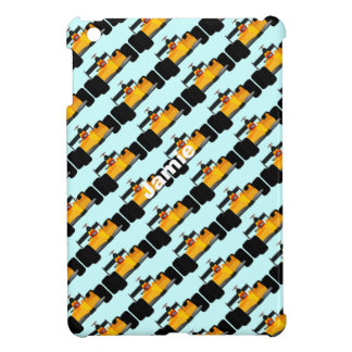 Personalize Race Car Birthday Party Gifts iPad Mini Cover