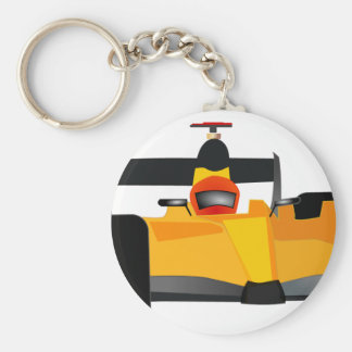 Personalize Race Car Birthday Party Gifts Keychain