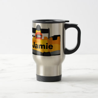 Personalize Race Car Birthday Party Gifts Mugs