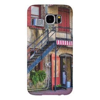 Personalize:  River Street, Savannah Georgia Samsung Galaxy S6 Cases