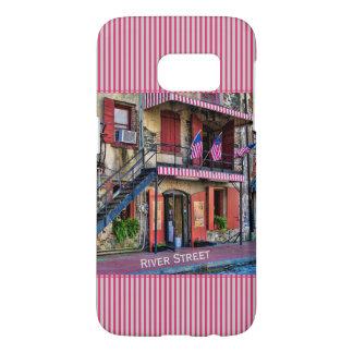 Personalize:  River Street, Savannah Georgia Samsung Galaxy S7 Case