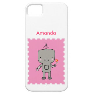 Personalize Robot Cute Geek chic iPhone Case