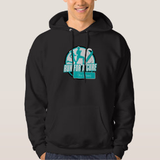 Personalize Run For a Cure - Cervical Cancer Hoody