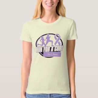 Personalize Run For a Cure - General Cancer T-Shirt