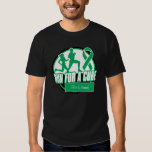 Personalize Run For a Cure - Liver Cancer T Shirt