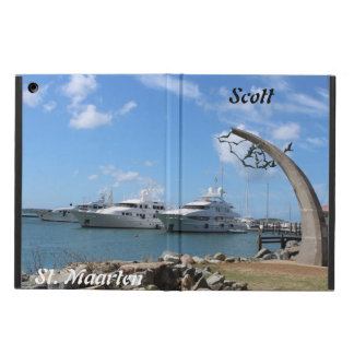 (Personalize) Saint Martin (St. Maarten) Yachts iPad Air Cover