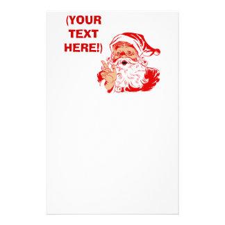 Santa Claus Stationery | Zazzle