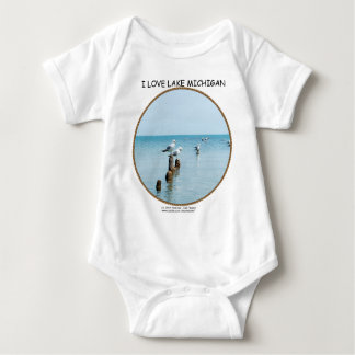 PERSONALIZE SEAGULLS INFANT CREEPER