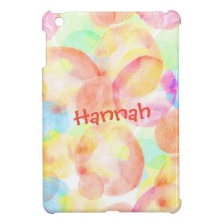 Personalize Seamless Watercolor Pattern iPad Mini Case