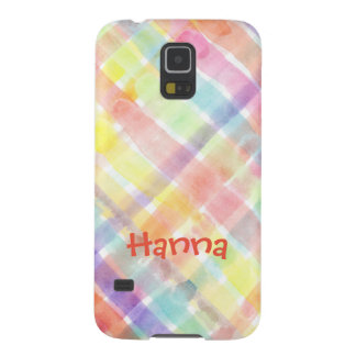Personalize Seamless Watercolor Pattern - storeman Case For Galaxy S5