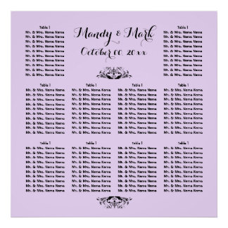 PERSONALIZE seating   Wedding Engagement Function Poster