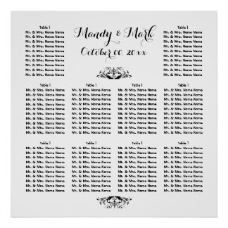 PERSONALIZE seating | Wedding Engagement Function Poster