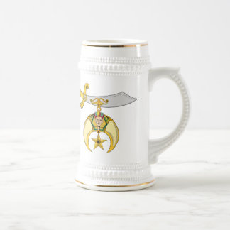PERSONALIZE SHRINERS' EMBLEM BEER STEIN