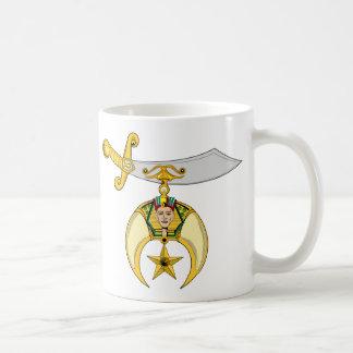 PERSONALIZE SHRINERS' EMBLEM COFFEE MUG
