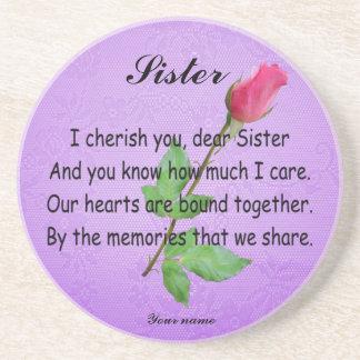 PERSONALIZE SISTER-COASTER COASTER