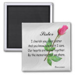 PERSONALIZE SISTER -MAGNET