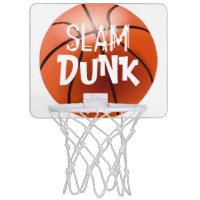 Personalize SLAM DUNK Mini Basketball Hoop