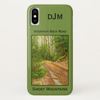 Personalize: Smoky Mountains Back Road Photography iPhone X Case