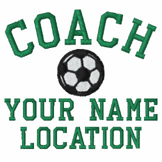 Personalize Soccer Coach Your Name Your Game! Polo Shirt