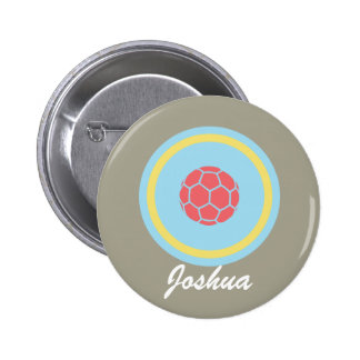 Personalize Soccer/Football Button