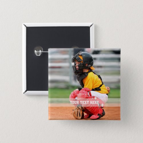 Personalize Sports Photo Button
