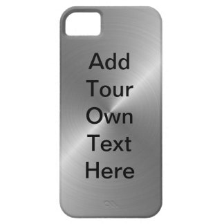 Personalize Steel iPhone 5 Cases