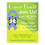 Personalize Stomach Cancer Fundraising Benefit Flyers